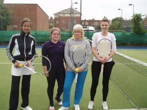 Nalandi Sharma-Ebdon, Lizzie May, Lynn May and Becky Attwood