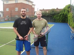 Bruno Machedo and Scott Coxhead
